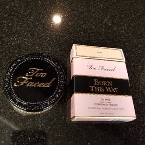 TOO FACED Born This Way Complexion Powder ALMOND